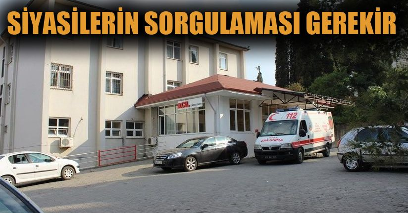 Vatandaş kendi hastanesine güvenmiyor