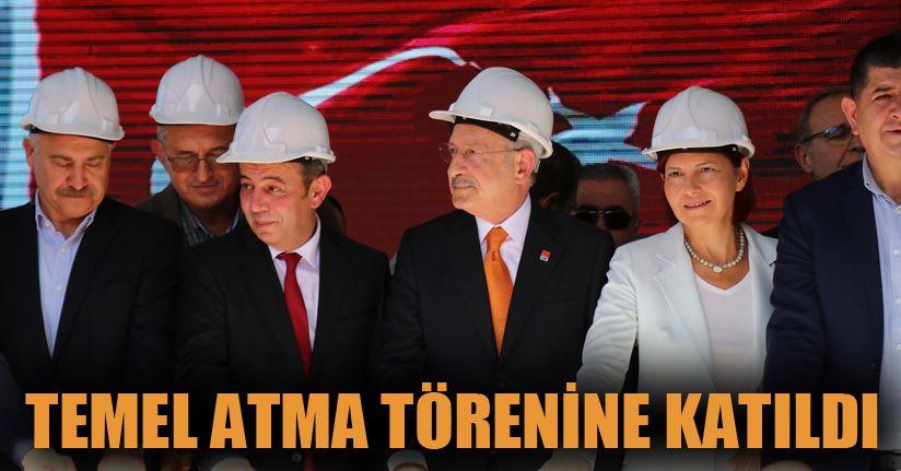 Kılıçdaroğlu, Bolu'da temel atma törenine katıldı