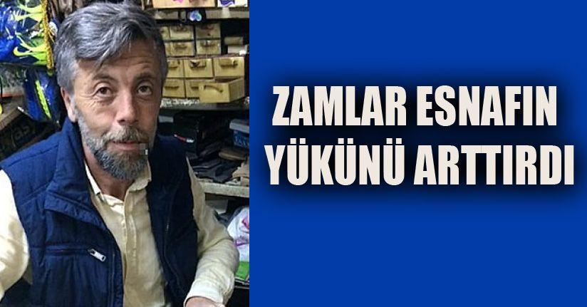 Esnaftan Zamlara Tepki