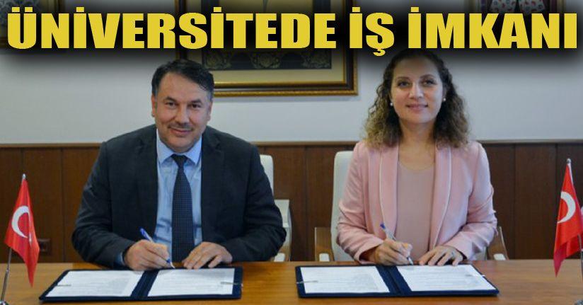 İş-kur ile iş birliği protokolü imzaladı