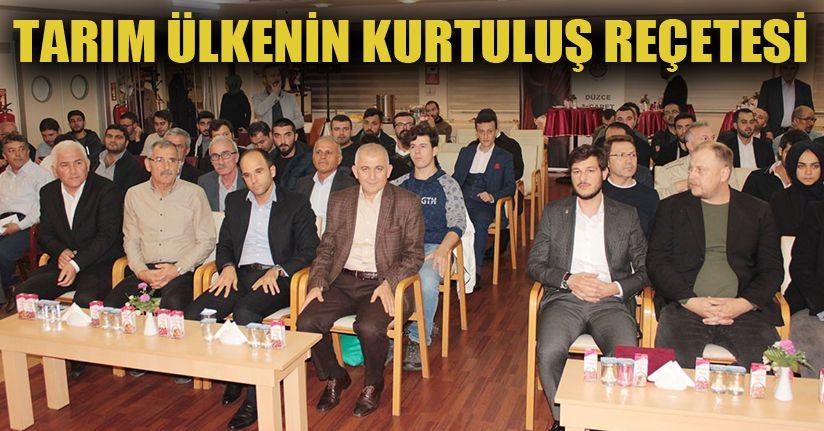 DTSO'da dünyada ve Türkiye'deki tarım konuşuldu