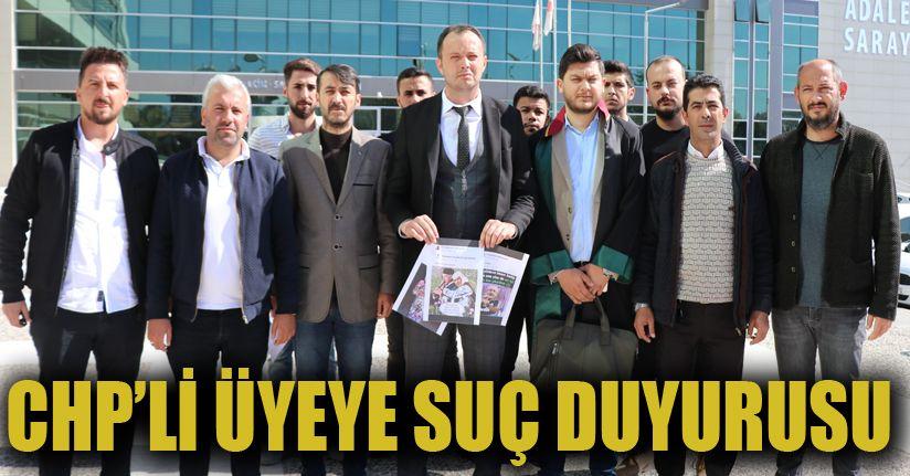 Ülkü Ocakları'ndan CHP'li meclis üyesi hakkında suç duyurusu
