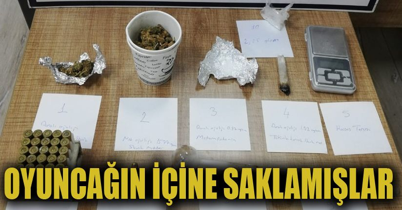 Uyuşturucu operasyonu: 1 tutukluma
