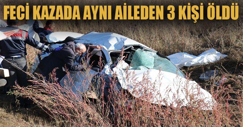 TEM'de feci kaza: 3 ölü, 2 yaralı