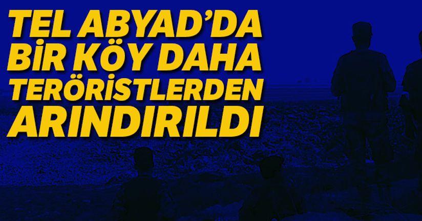 Tel Abyad'ın güneydoğusunda bir köy daha teröristlerden arındırıldı