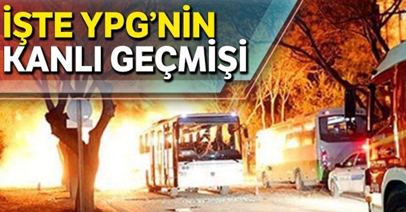 İşte YPG'nin kanlı geçmişi