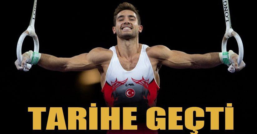 İbrahim Çolak, Türk cimnastik tarihine geçti