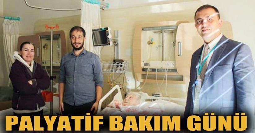 Prof.Hamid Özmen'den Palyatif Ünitesine ziyaret