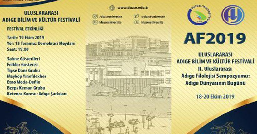 Adıge Bilim ve Kültür Festivali'ne ev sahipliği yapacak