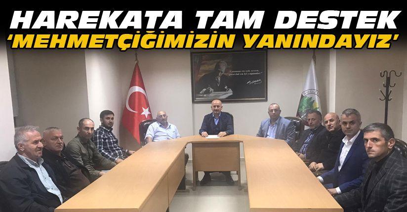 Boğaziçi Belediye meclisinde Barış Pınarı Harekatına tam destek