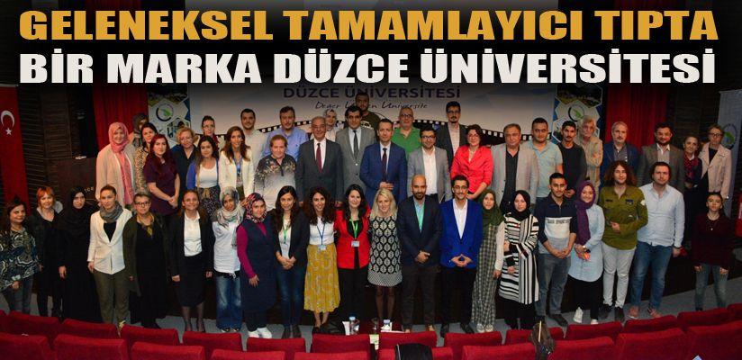 DÜzce Üniversitesi GETAT alanında ciddi marka
