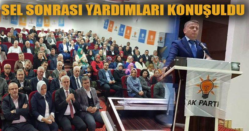 AK Parti İlçe Divanı Tamamlandı