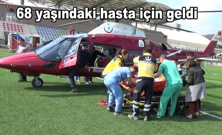 Hava Ambulansıyla Bakırköy'e Sevk Edildi