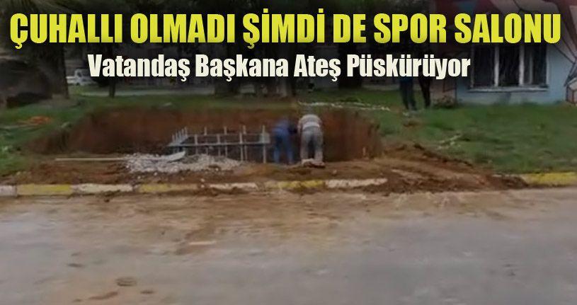 Akçakoca'da Baz İstasyonu Tepkisi