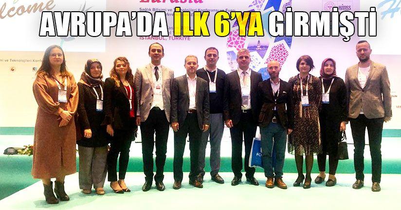 İstanbul'da Ödülünü Aldı