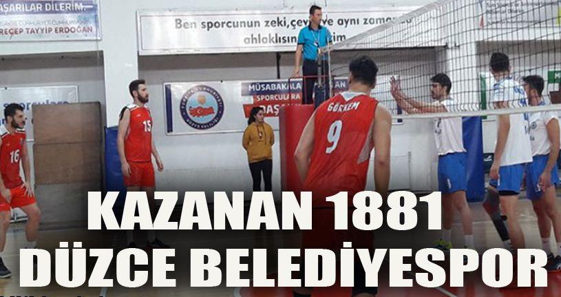 1881 Düzce Belediyespor 3 - Milas Belediyespor 2