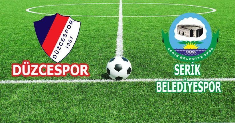 Düzcespor 0 – 0 Serik Belediyespor