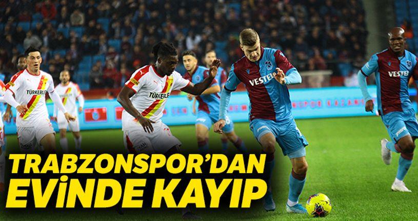 Trabzonspor: 0 - 1 Göztepe