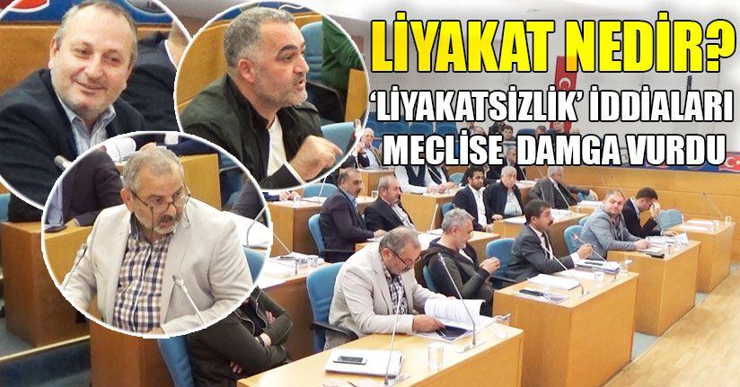 Meclis Toplantısında Gerginlik