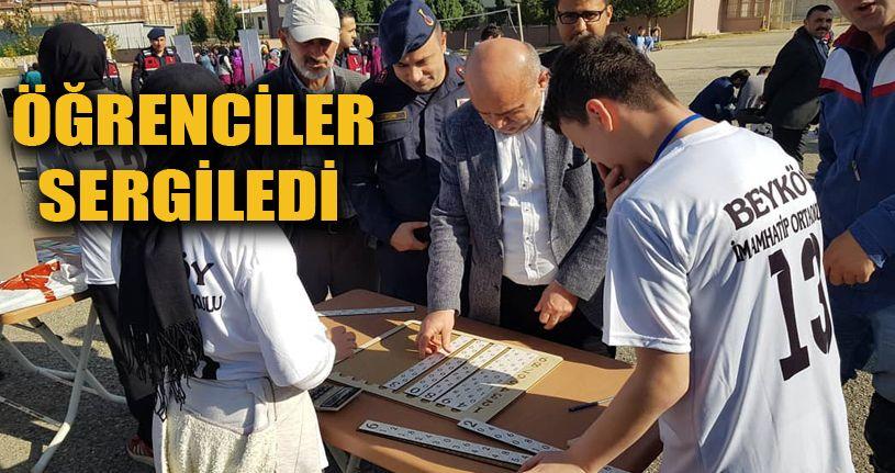 Osman Kılıç Öğrencilerin Çalışmalarını İnceledi