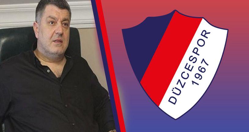 İş adamı Düzcespor'a talip oldu