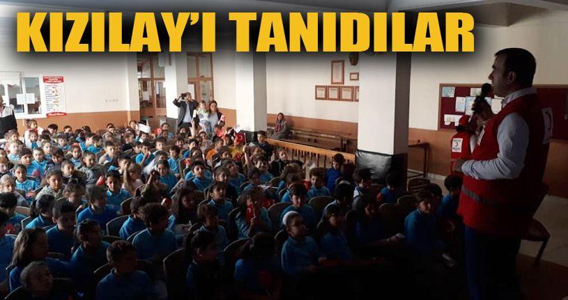 Akçakoca'da öğrencilere Kızılay anlatıldı