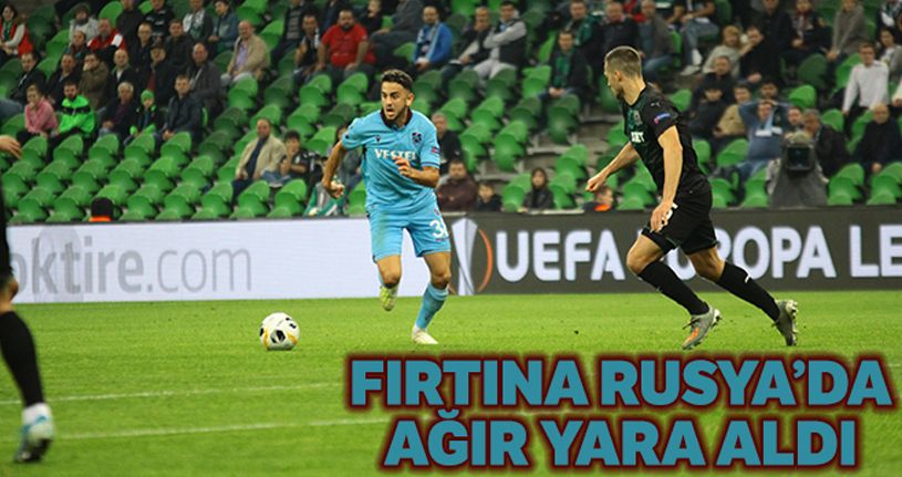 Krasnodar 3-1 Trabzonspor